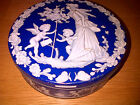 Vintage Biscuit Tin / Storage Container Design Inspired by Josiah Wedgwood