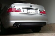 E46 MTECH M-TECH STYLE REAR BUMPER FOR BMW 3 SERIES 2 DOOR COUPE