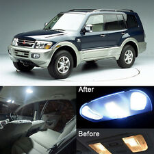 White LED Interior Light Kit For Mitsubishi Montero V60 Pajero 2001-2006 (12pcs)
