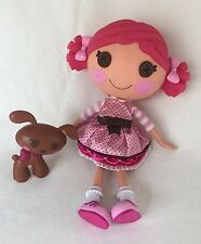 """Lalaloopsy Doll Toffee Cocoa Cuddles 12"""" Full-Size w/ Dog Pet"""