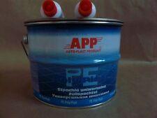 gros pot 4kg de mastic universel polyester pour la carrosserie peinture auto APP