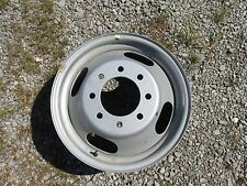 """CHEVY- GMC DUALLY OR BOX TRUCK 16""""6.5"""" 8ON6.5"""" WHITE Dual Steel Wheel one piece"""