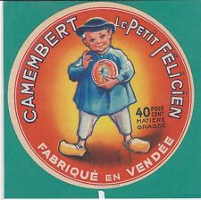 I589 FROMAGE CAMEMBERT LE PETIT FELICIEN VENDEE