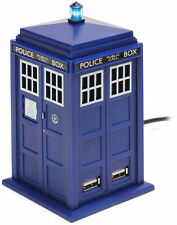 DOCTOR WHO ~ Tardis 4-Port USB Hub 11th Series (Zeon Ltd.) #NEW
