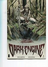 DARK ENGINE #1 - RYAN BURTON SCRIPTS - IMAGE COMICS - 2014
