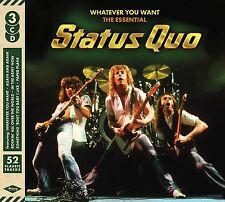 STATUS QUO WHATEVER YOU WANT: THE ESSENTIAL 3 CD - NEW RELEASE NOVEMBER 2016
