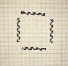 4 x Druckfeder, klein, Länge 18mm, Außen Ø2,2mm, Drahtstärke 0,2mm
