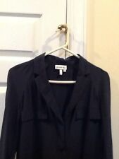 Lacoste size 36 ladies shirt dress, 100% silk, EUC