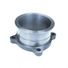 """3"""" Inch 4 Bolt To 3"""" V-Band Turbo Turbine Exhaust Conversion Adapter Flange Cast"""