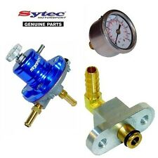 SYTEC FUEL PRESSURE REGULATOR KIT + FUEL GAUGE SUBARU IMPREZA TURBO (92-00)