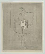 """James Coignard (1925-2008) """"jeu de DIABOLO"""" Original Gravure 25/45"""