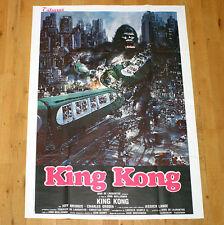 KING KONG movie poster affiche manifesto Guillermin New York Monster Horror 1976