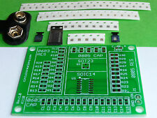 SMD SMT Electronic Component Practice Kit DIY Training Sheild w/ LED Flasher PCB