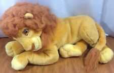 MATTEL VINTAGE PLUSH LION KING ADULT SIMBA BIG LARGE HUGE
