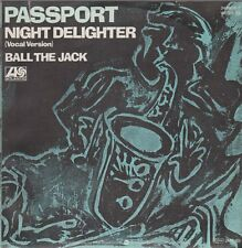"7"" Passport (Klaus Doldinger) Night Delighter / Ball The Jack 80`s Atlantic"