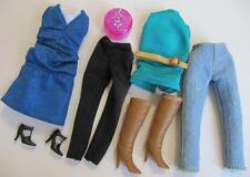 Disney Hannah Montana Doll Miley Cyrus Clothes DRESS DENIM PANTS BOOTS LeggingS