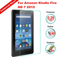 For Amazon Kindle Fire HD 7 2015 9H Real Premium Tempered Glass Screen Protector