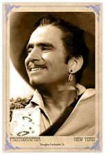 Screen Legend Douglas Fairbanks Vintage Photograph A++ Reprint Cabinet Card CDV