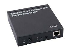 HDMI extender by Single Cat5e HDBaseT 100M 4Kx2K IR Full3D Ethernet Switch