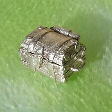 VINTAGE SILVER OPENING TREASURE CHEST CHARM