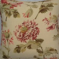 A 16 Inch cushion cover in Laura Ashley Hepworth Gold Fabric