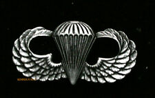 MADE IN US ARMY AIR CORPS AIRBORNE WW2 HAT LAPEL PIN PARATROOPER WING BADGE WOW
