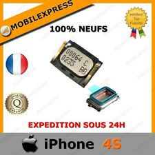 IPHONE 4S - MODULE ECOUTEUR INTERNE HP HAUT PARLEUR SPEAKER - 100% NEUF