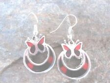 Butterfly Earrings Made by Artesanas Campesinas in Mexico Fair Trade NEW e1010