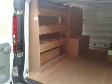 VIVARO LWB SIDE DOOR Storage Accessories Van Racking Sytem Plywood Shelving
