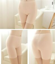 New Women's Bamboo Fiber Underpants Soft Comfy One Size Natural W/O Lace Edge