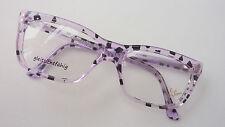 """Filou die """"schrille Brille""""  gerade Glasform GR:M 52-20 flieder-schwarz gefleckt"""