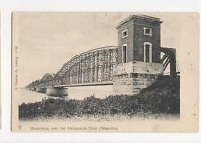 Spoorbrug Over Het Hollandsch Diep Moerdijk Netherlands U/B Postcard 263a