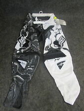 Fox Racing 360 Kawasaki motocross/enduro/trail adult pantalones blk/whi 76.2cm