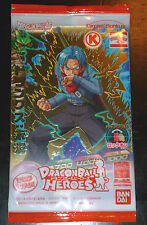 DRAGON BALL Z DBZ HEROES PROMO PACK CARD PRISM CARTE GDPC-03 TRUNKS SEALED RARE