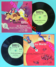 LP 45 7'' HILDA TOSELLI Topino brik finisce su saturno Arriva marte no cd mc dvd