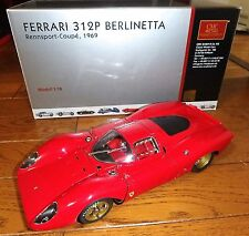 1/18 FERRARI 312P BERLINETTA RENNSPORT - COUPE  1969 by CMC M-096