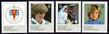 FALKLAND ISLAND DEPENDENCIES 1982 Princess Diana 4v set MNH @S4107