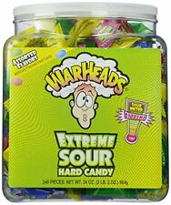 Warheads Extreme Sour Hard Candy Pack of 240