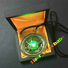 In Stock Amulet Antique Glowing Dr Doctor Strange Eye of Agamotto Bronze Pendant