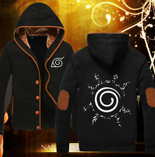 Hoodie Anime Naruto Uzumaki Autumn Casual Unisex Sweatshirt Jacket Coat Clothing