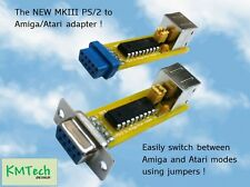 The New MKIII Amiga/Atari PS/2 mouse adapter converter with mode switch jumpers