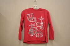 DRUM'S SET RED T-SHIRT..SLING SHOT..SIZE:MEDIUM..A.D.