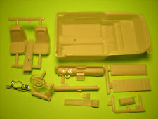 1968 Shelby Mustang GT-500 1/25 cobra interior tub bucket seat console Ford lot