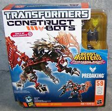 TRANSFORMERS CONSTRUCT BOTS BEAST HUNTERS PREDAKING SET TARGET EXCLUSIVE
