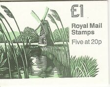 GB 1989 £1 FH18 Folded Booklet