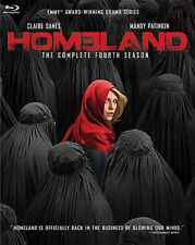 Homeland: Season 4 (Blu-ray Disc, 2015, 3-Disc Set) NEW