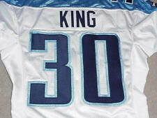 Eric King Game Jersey 2006 Tennessee Titans Wake Forest