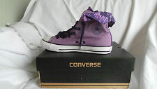 New in box converse all star ct nœud dos hi baskets taille 5 violet EU38 nouveau seaso