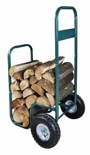 Wood / Log Cart and Store with Cover by Westwoods NEW