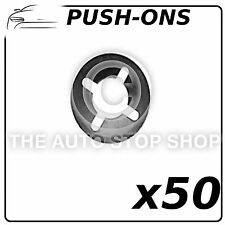 Fastener Circular Push-ons Stem  6MM Part Number: 1391 Pack of 50 (All Vehicles)